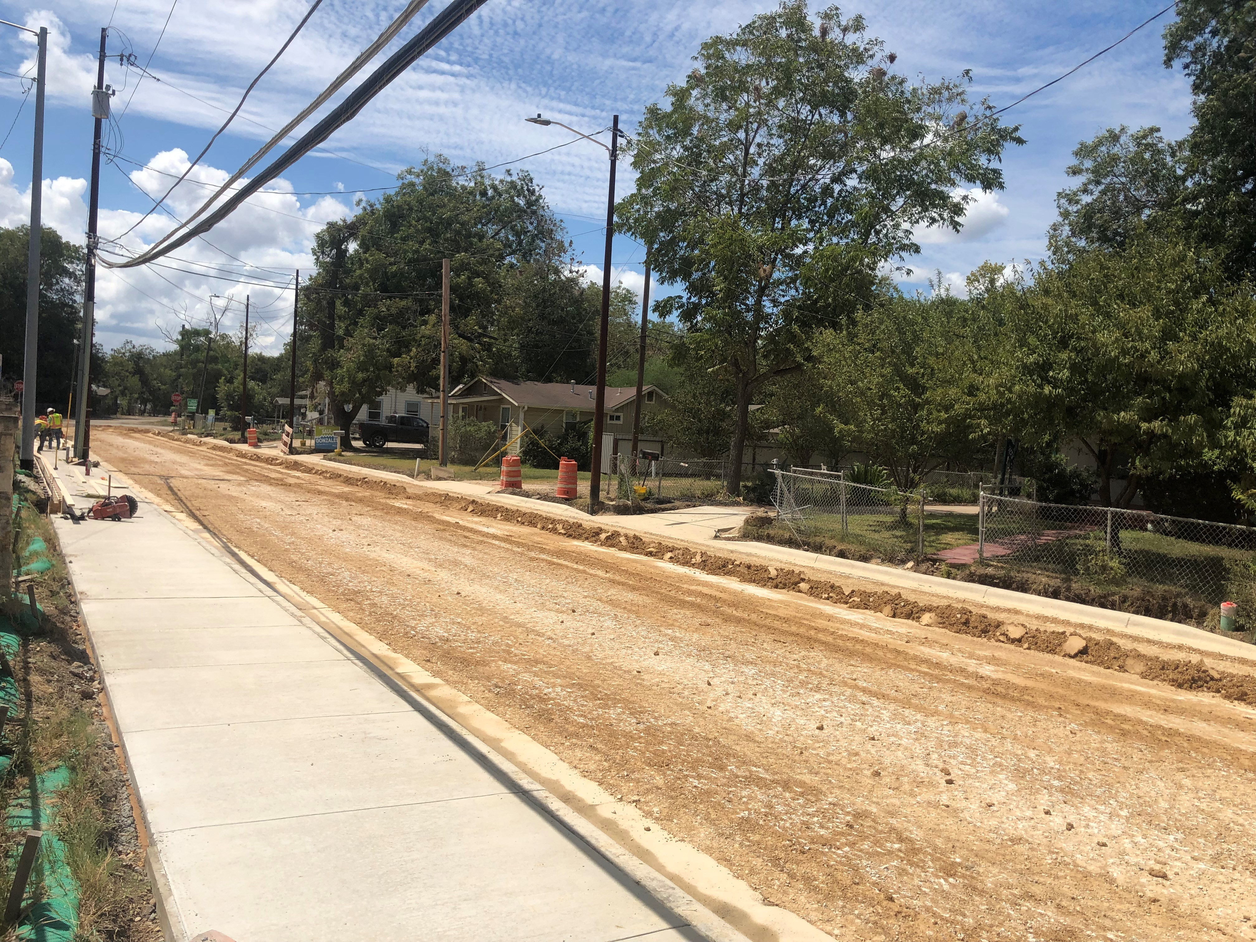 Camacho St Road Construction