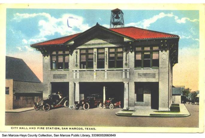 City Hall and Fire Station