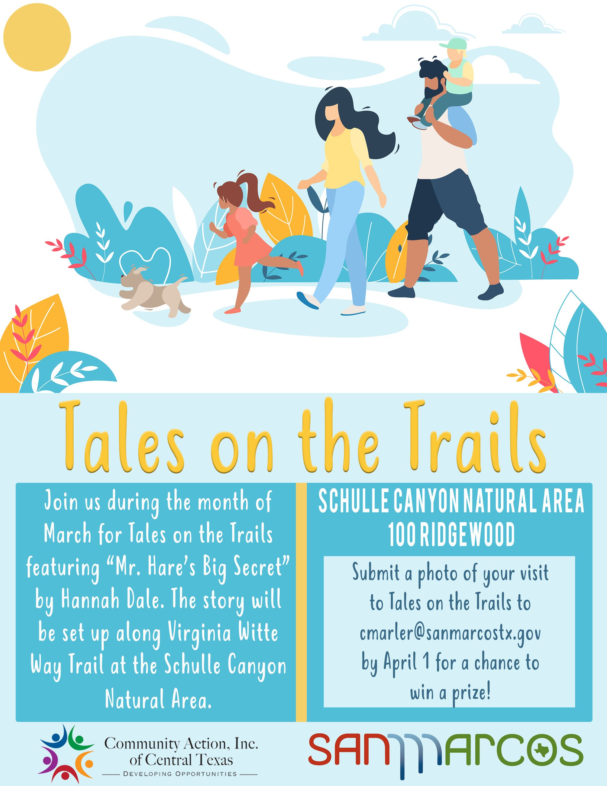 Tales on the Trails - March
