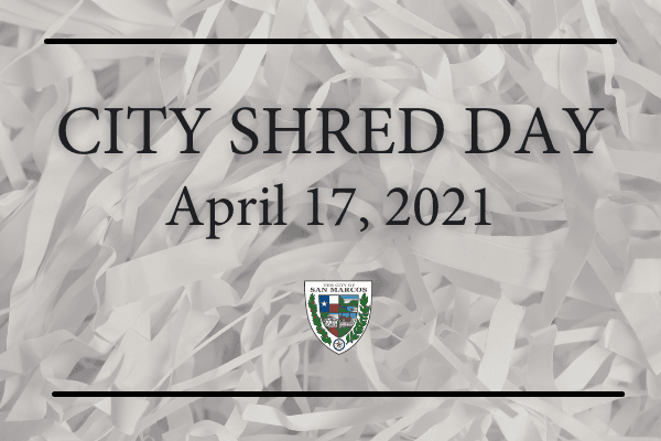City Hall Shred Day