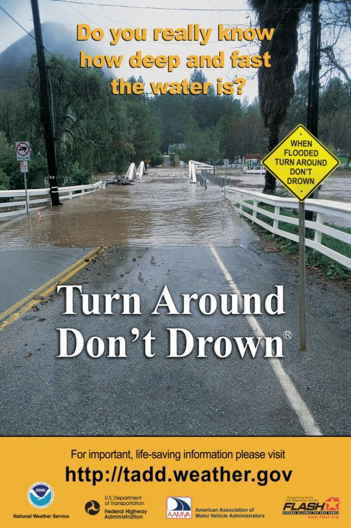 Turn Around Don't Drown Poster
