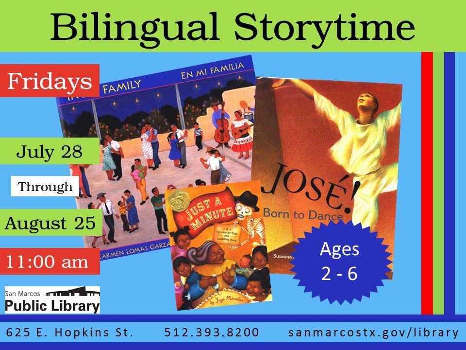 bilingual storytime book images