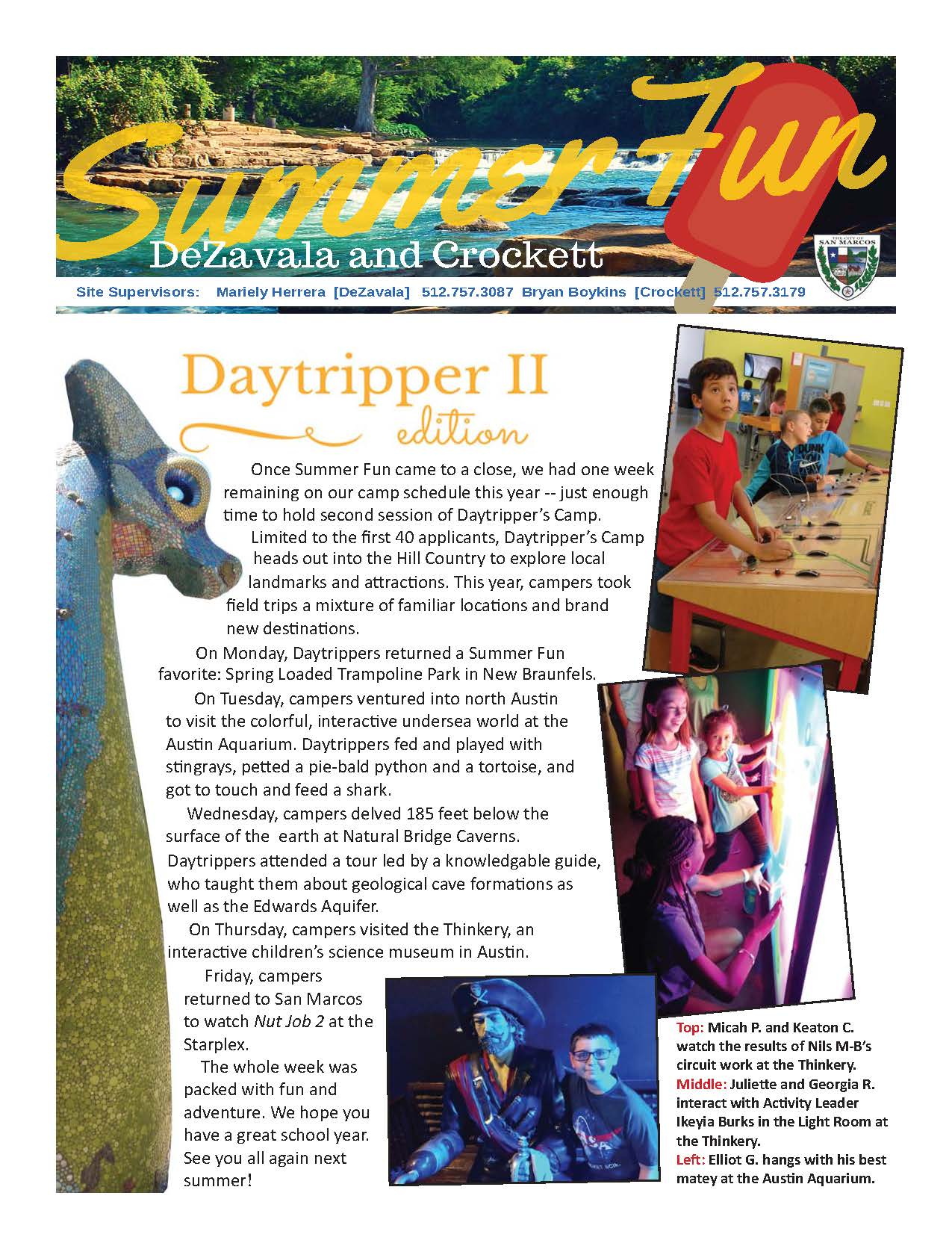Daytripper 2 Blog - Page 1