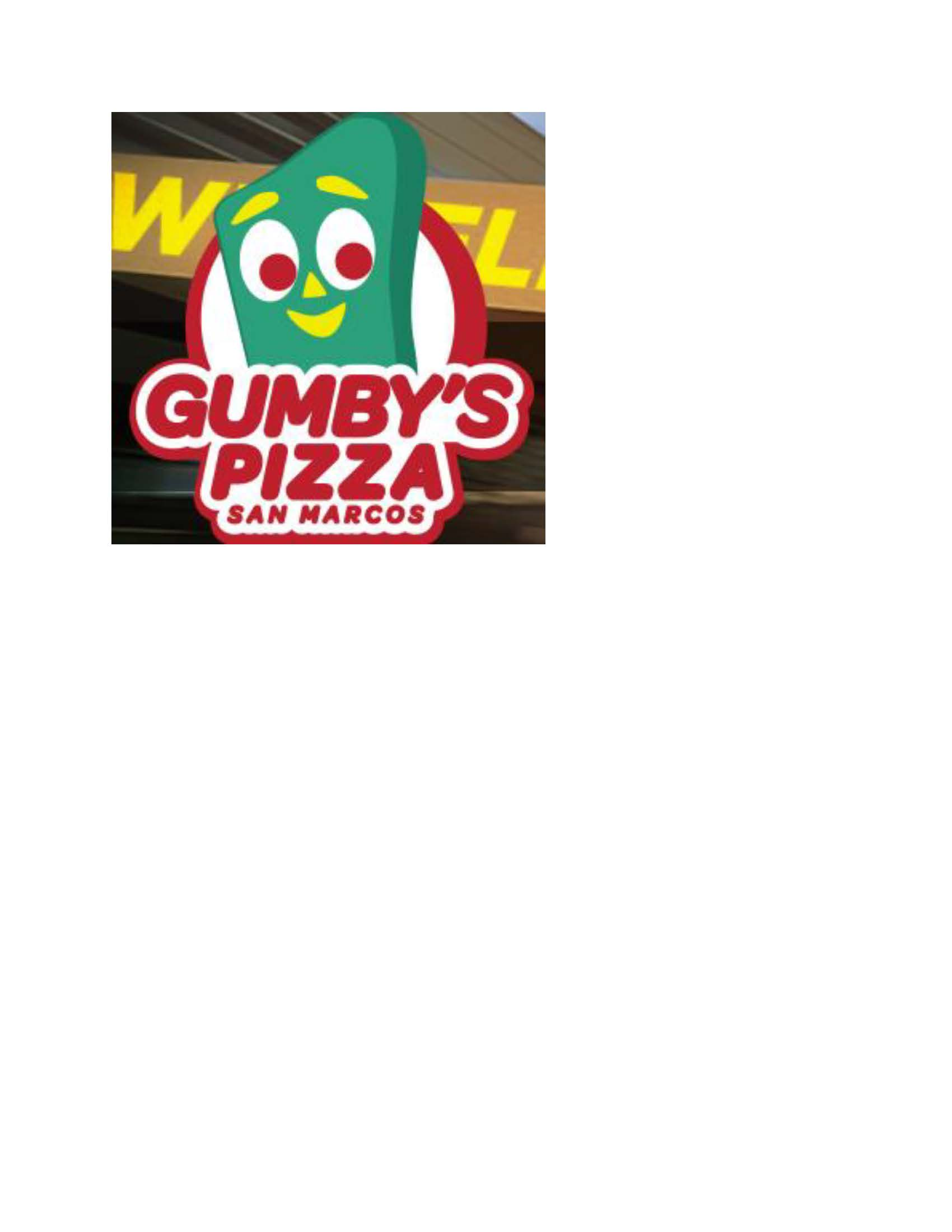 Gumby Pizza