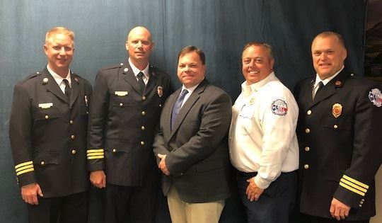 Fire Service Chief Executive Officer Group Photo