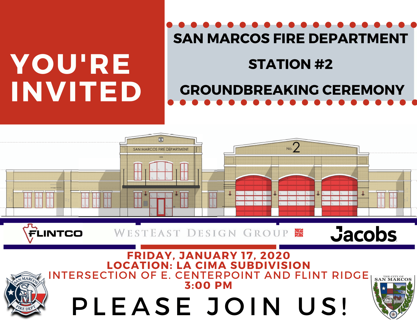 01172020 Sta 2 Groundbreaking Ceremony Invitation